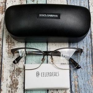 Dolce&Gabbana DG 1268 1254 Metal Eyeglasses/VIE719